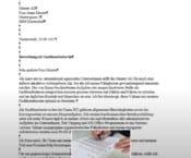 Bewerbungsschreiben - Ein einfaches Muster-Anschreiben für die Bewerbung - Ihr Ratgeber www.hsc-personal.de