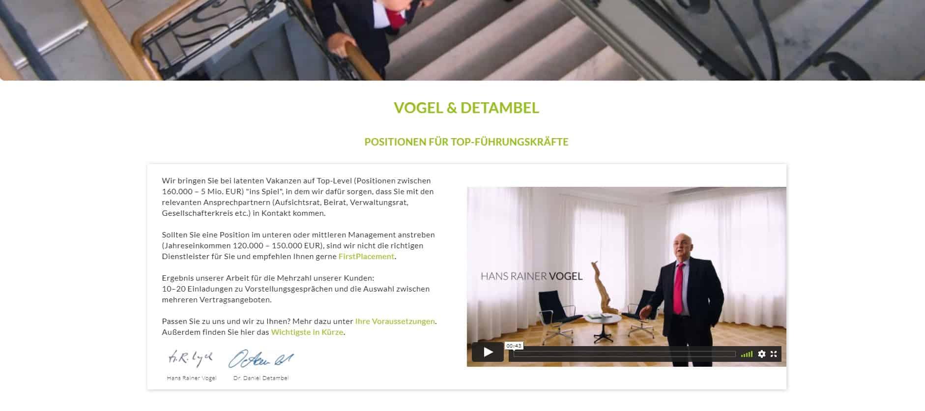 Vogel & Detambel